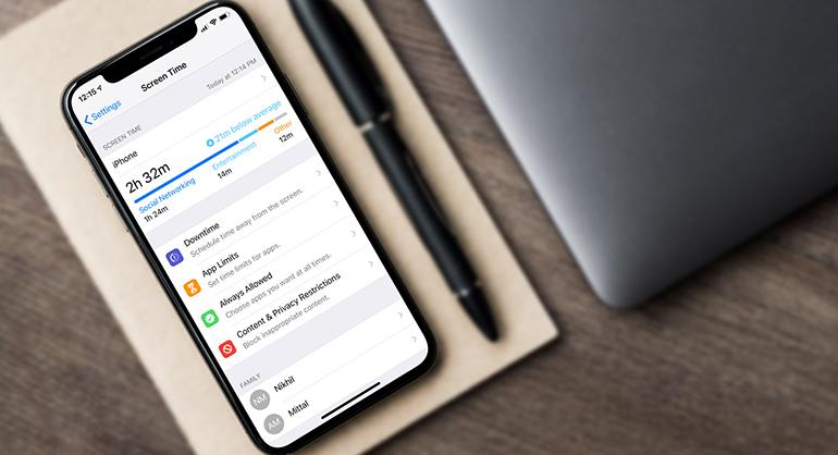Πώς να χρησιμοποιήσεις το Screen Time στο iPhone
