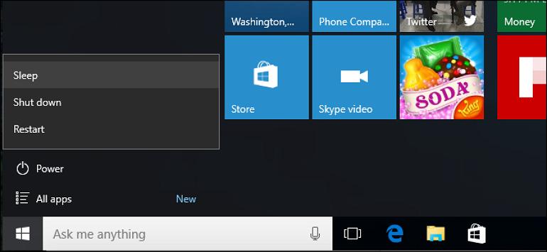 Τι είναι καλύτερο για ένα PC το shut down ή το sleep mode;